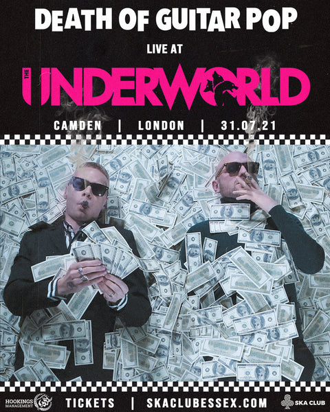 LONDON - CAMDEN UNDERWORLD TICKET 31/07/21