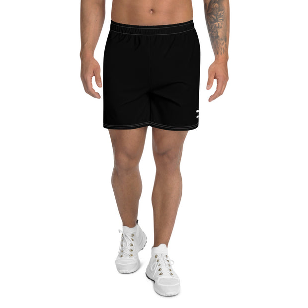 Black Mouth Logo Shorts
