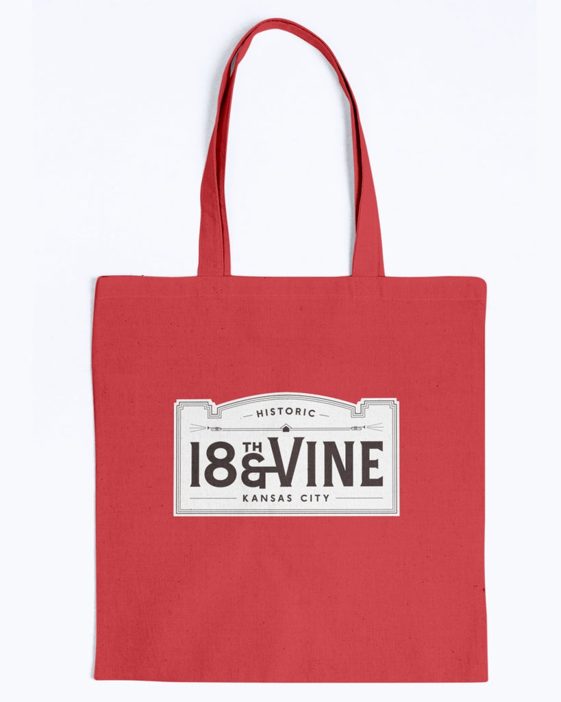 18VINE KC Canvas Promo Tote