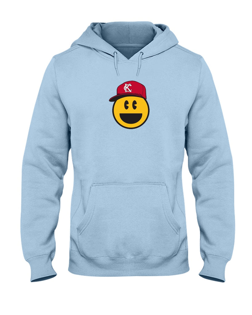 KC Smile Red 50/50 Hoodie