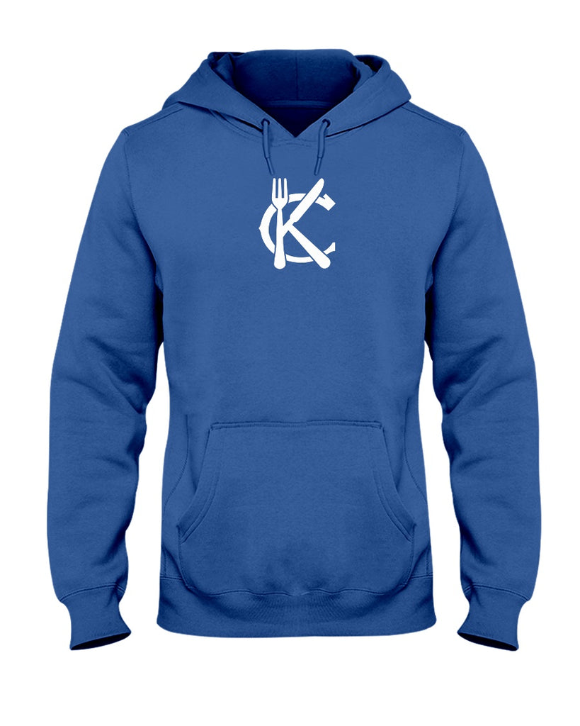 Support KC Industry Classic Design Unisex 50/50 Hoodie - White Logo