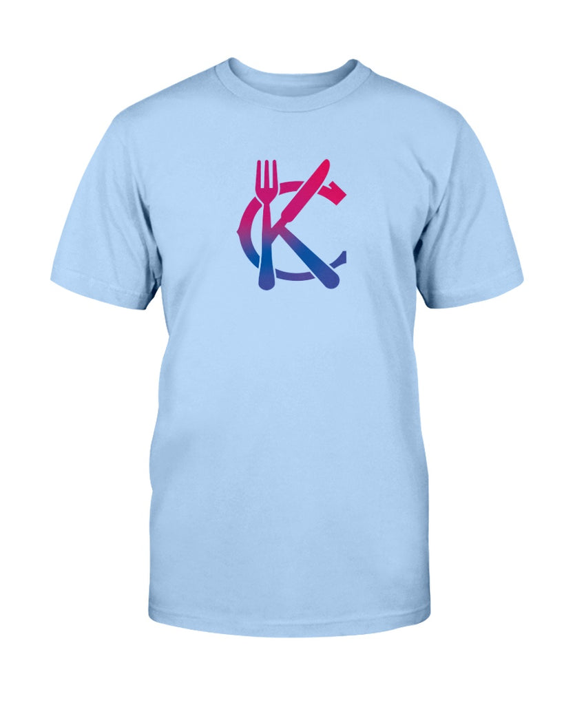 Support KC Industry Gradient Design American Apparel Unisex T-Shirt