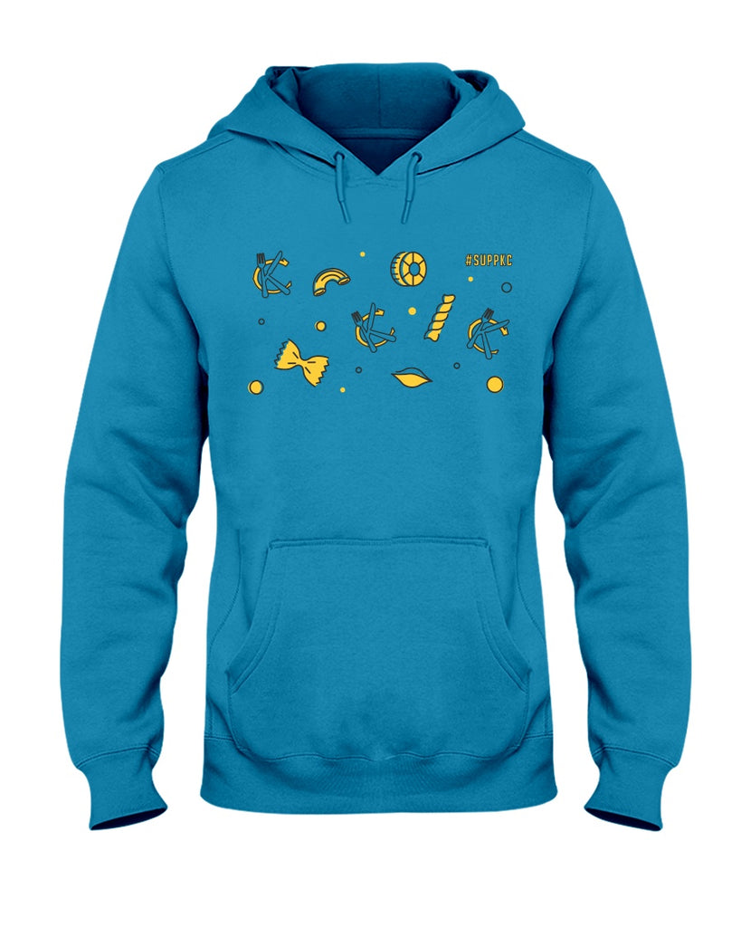 Support KC Industry: All the Pasta Collection - Unisex Hoodie