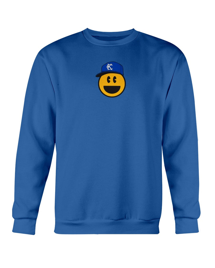 KC Smile Blue Youth Sweatshirt