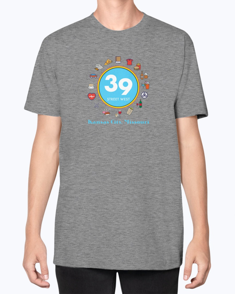 39th Street Unisex American Apparel T-Shirt