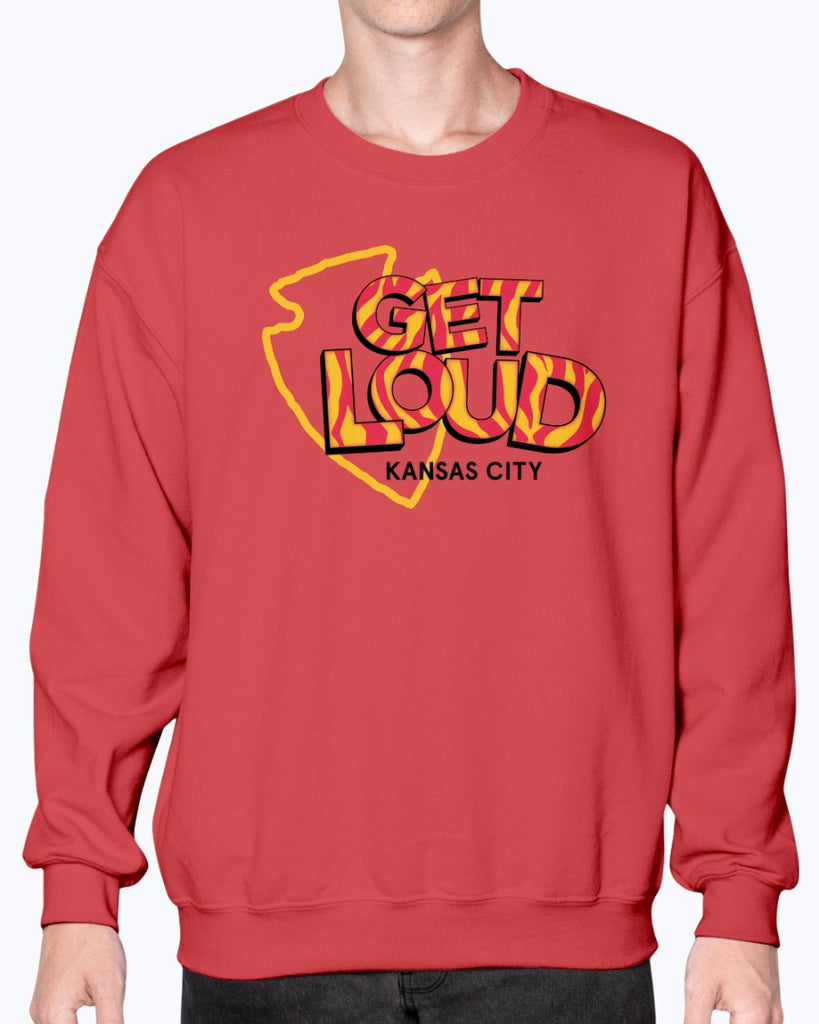 Get Loud Sweatshirt - Crew