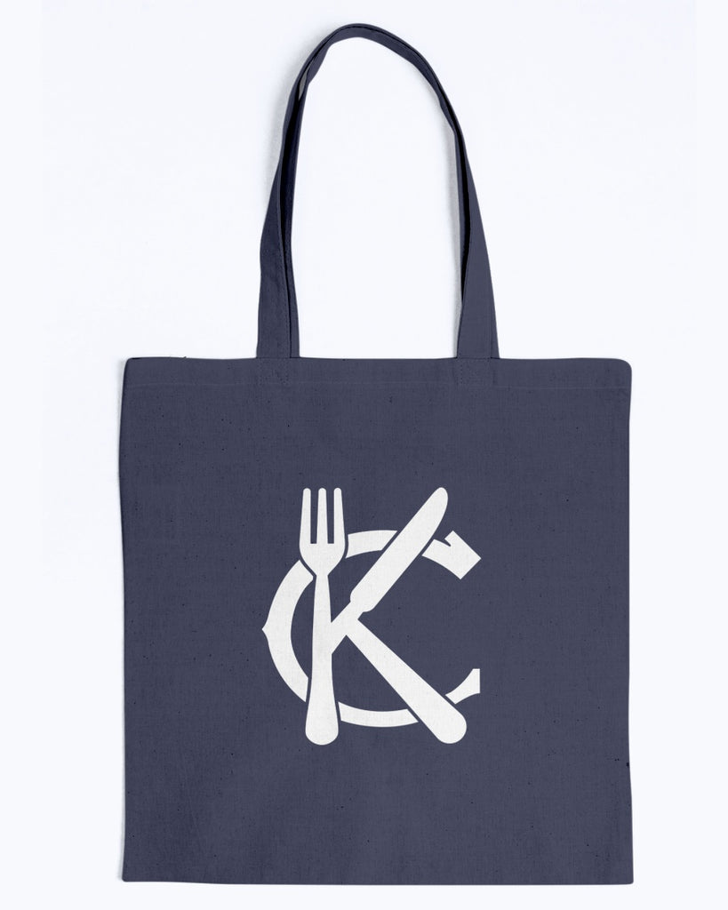 Support KC Industry Classic Design Canvas Tote - White Logo