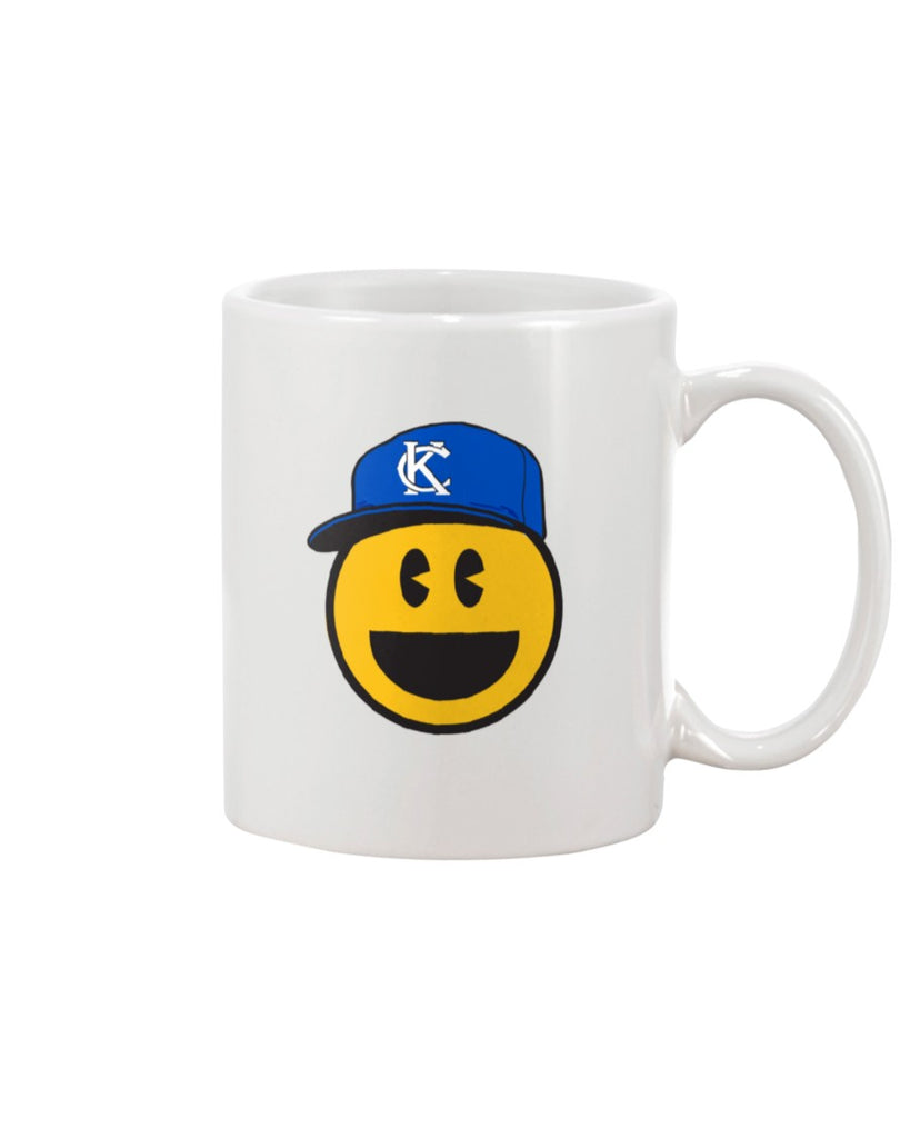 KC Smile Blue 11oz Mug