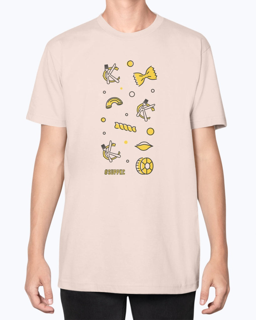 All the Pasta Unisex American Apparel T-Shirt