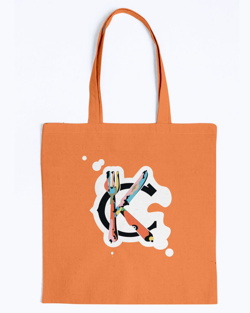 Support KC Industry Painted Design Canvas Promo Tote