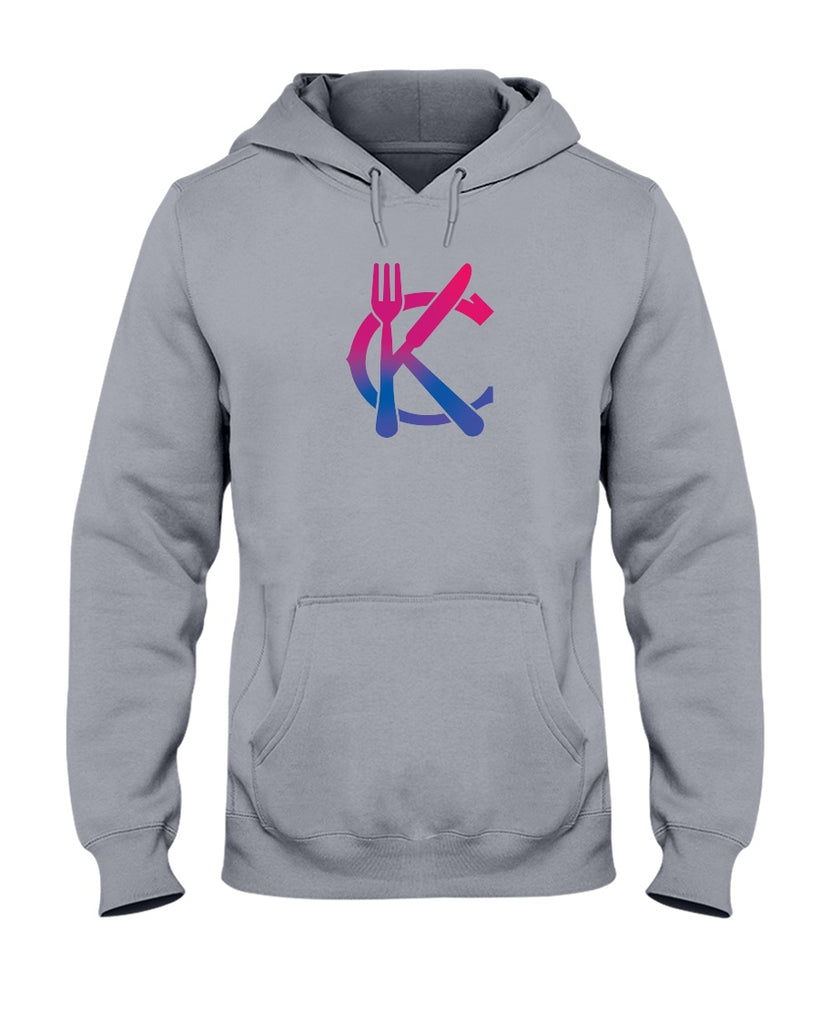 Support KC Industry Gradient Design 50/50 Unisex Hoodie