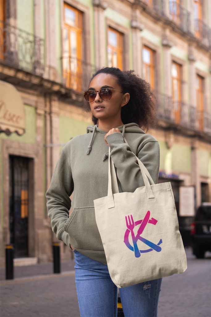 Support KC Industry Gradient Design Canvas Promo Tote