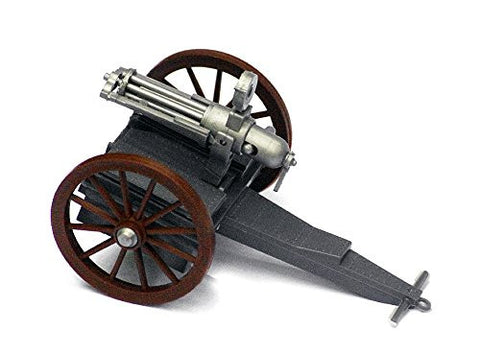 TOYWAY - TIMPO - 19th Century Gatling Gun - 1/32 Scale Plastic Gatling Gun Snap Together Kit