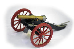 TOYWAY - TIMPO - 19th Century Artillery Cannon - 1/32 Scale Plastic Field Cannon Snap Together Kit