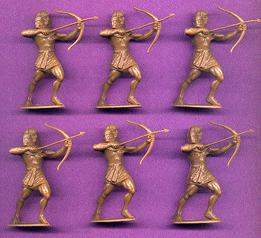 JECSAN Ancient Egyptians Archer Standing 60mm Plastic Toy Soldiers Set