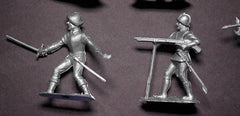 ICARUS - MONARCH CONQUISTADORS - 54mm - 12 Paintable Semi-Soft Plastic Toy Soldiers