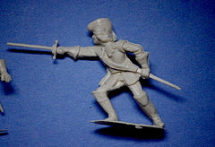 ICARUS - CHERILEA CAVALIERS & ROUNDHEADS - 60mm - 12 Paintable Semi-Soft Plastic Toy Soldiers