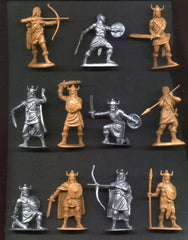 Jecsan VIKINGS in 60mm 11 Toy Soldiers