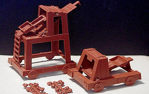 MPC REISSUED SIEGE EQUIPMENT you get 2 siege machines!