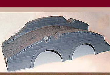 MARX BURNSIDE BRIDGE Civil War Bridge reissued from original MARX Molds! 54mm MARX Playset Accessory!