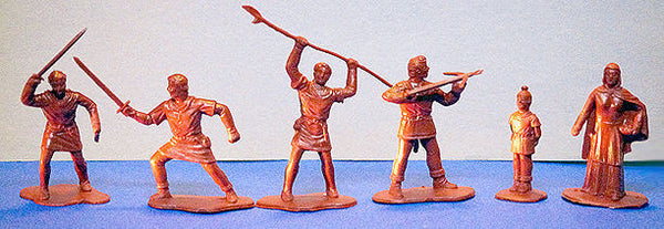 REAMSA Reissue 60mm William Tell & Swiss Knights Set  12 FIGURES