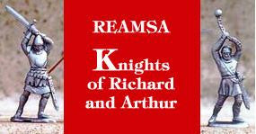 Reamsa KNIGHTS OF KING RICHARD & ARTHUR 14 Toy Soldiers in 14 action poses