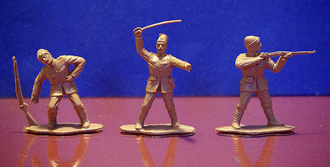 REAMSA TURKISH ARMY WWI - 6 poses - Plastic Toy Soldiers Set of 8, 60mm