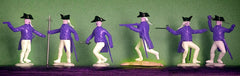 TIMPO SWOPPET - Revolutionary War Americans, 54mm, 6 Figures