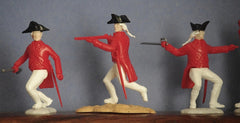 TIMPO SWOPPET - Revolutionary War British, 54mm, 6 Figures