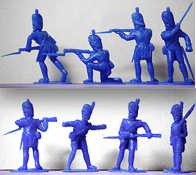 TIMPO Napoleonic French Grenadiers 12 Piece Set in 8 Poses - 54mm