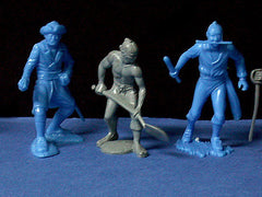 MARX Toy Soldiers 20 Pirates of the Caribbean - Reissued 60mm Plastic Figures - Mint