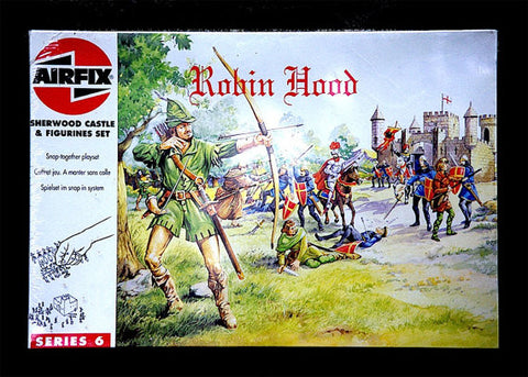 AIRFIX Sherwood Castle and Robin Hood & Sheriff of Notingham Figues Playset