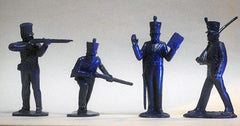 Copy of MARX Toy Soldiers 8 American Soldiers of 1840 Reissued in Blue
