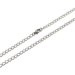 Chain Stainless Steel Flat Link 3mm