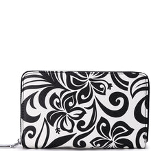 Load image into Gallery viewer, Wallet Chloe Hibiscus Black
