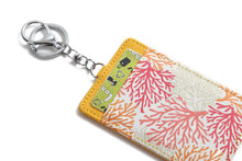 Load image into Gallery viewer, Card Case April Coral Yellow