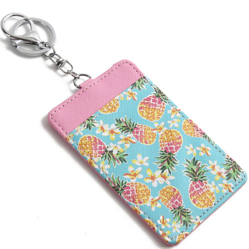 Card Case April Pineapple Pink - Happy Wahine