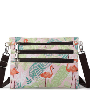 Crossbody Jonelle Flamingo Monstera Pink