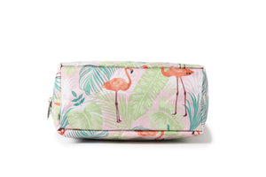 Crossbody Amber Flamingo Monstera Pink