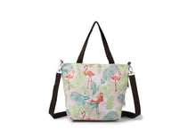Load image into Gallery viewer, Crossbody Amber Flamingo Monstera Pink