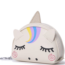 Load image into Gallery viewer, Charm Davine Coin Case Unicorn Beige