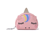 Load image into Gallery viewer, Charm Davine Coin Case Unicorn Pink