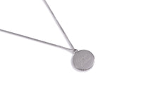 Load image into Gallery viewer, Necklace Aloha Happy Wahine Hawaii 26 inch Silver