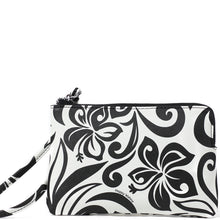 Load image into Gallery viewer, Wristlet Judy Hibiscus Black