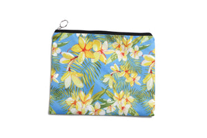 Pouch Set Everyday Hawaii Plumeria Yellow 3-piece