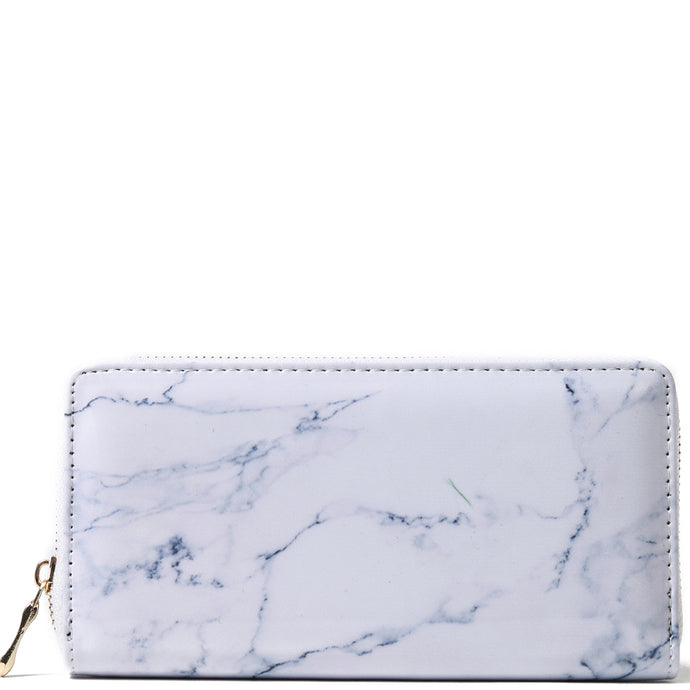 Wallet Everyday Hawaii Marble White - Happy Wahine