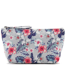 Load image into Gallery viewer, Pouch Small Everyday Hawaii Hibiscus Grey