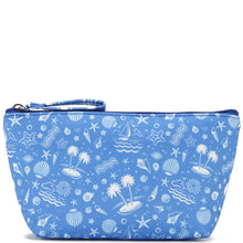 Load image into Gallery viewer, Nylon Pouch Small Everyday Hawaii Ocean Blue