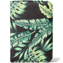 Load image into Gallery viewer, Passport Case Everyday Hawaii Monstera Blue