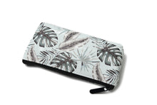 Load image into Gallery viewer, Pouch Medium Everyday Hawaii Monstera Teal